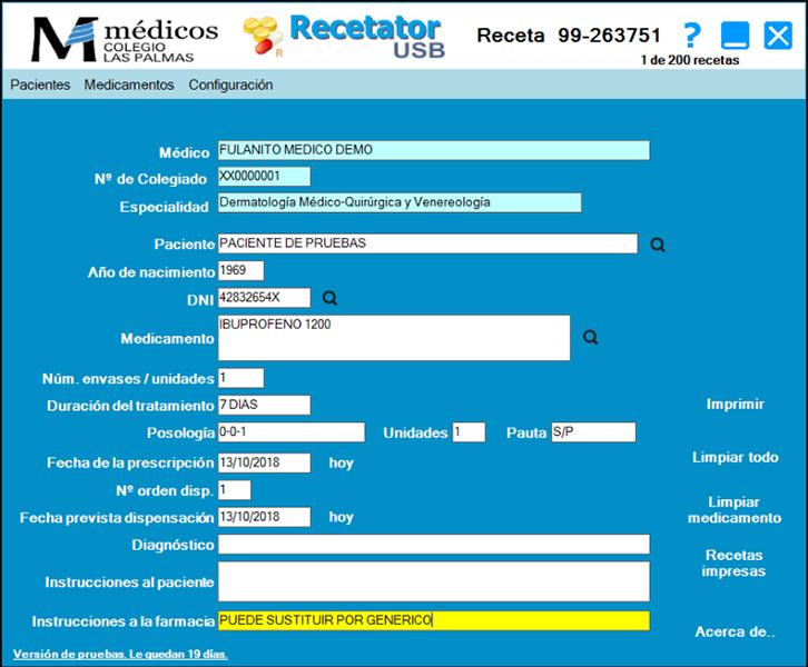 Recetator full screenshot